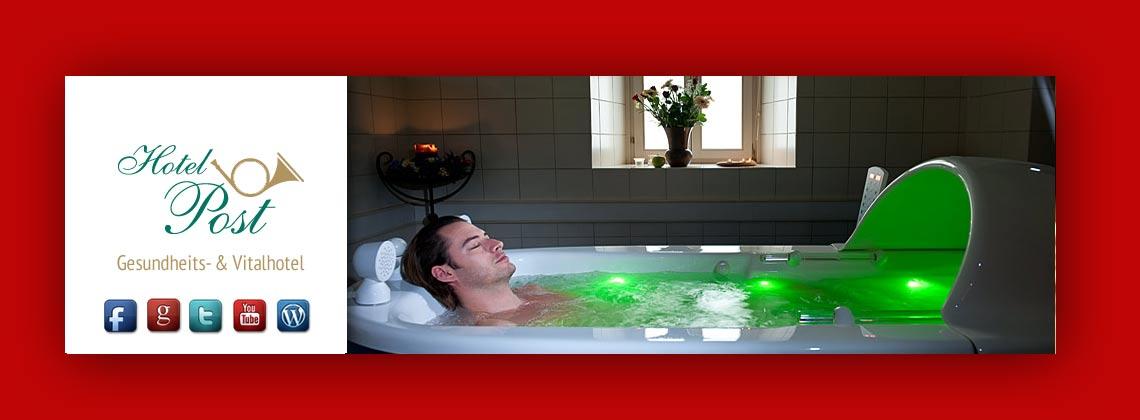 Hydroxeur mit Farb- und Lichttherapie