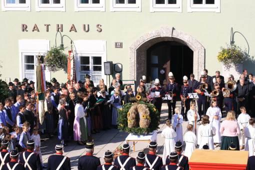 Erntedankfeier in Radstadt im Pongau
