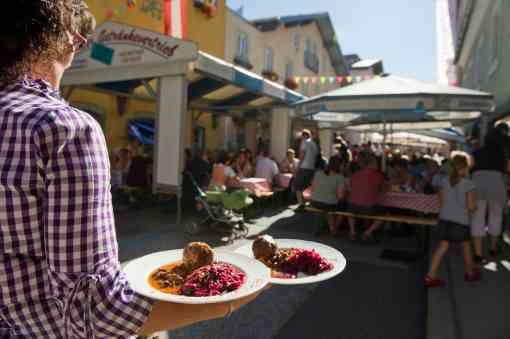Knödelfest im Salzburgerland