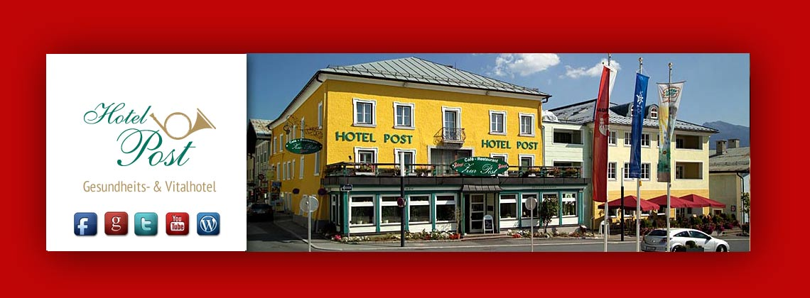 Das Hotel Post in Radstadt