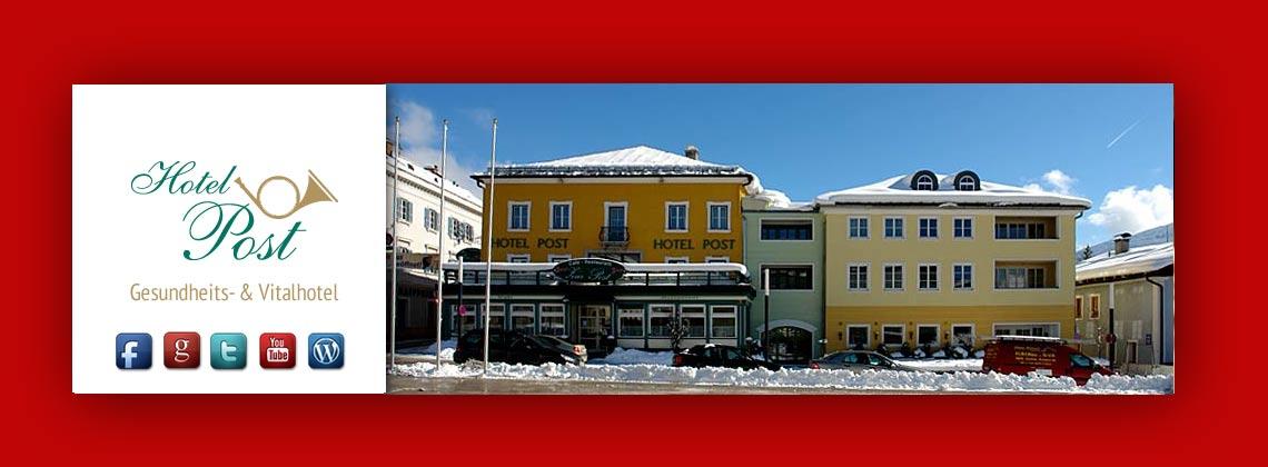 Winterurlaub im Posthotel Radstadt